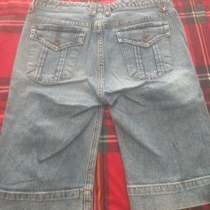 Long jean shorts Tommy Hilfiger size 8
